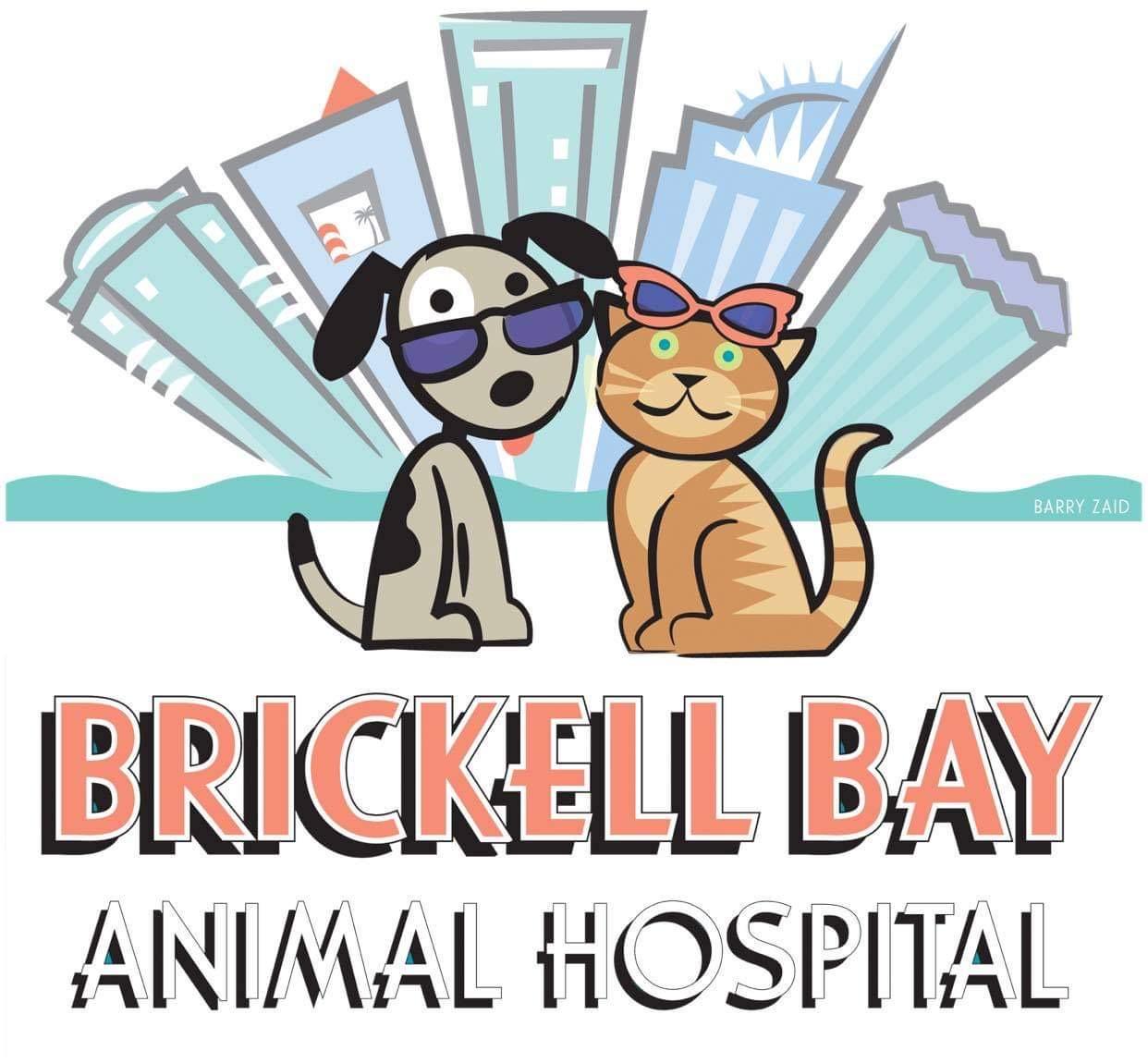 brickell bay animal hospital logo