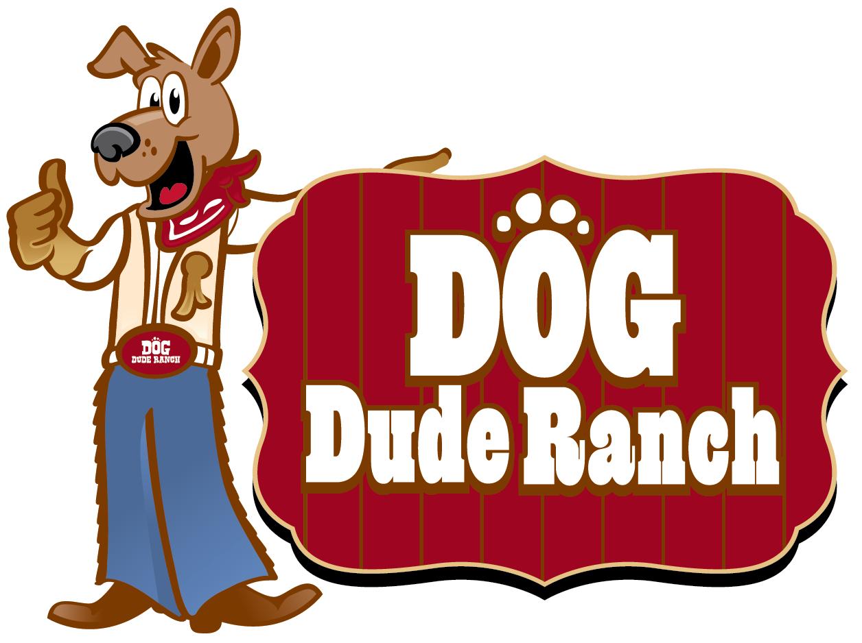 dog dude ranch logo